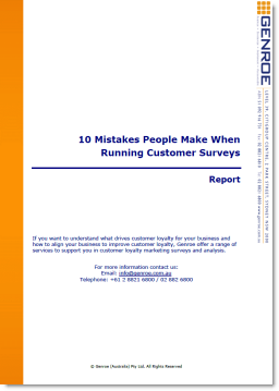 10 big survey mistakes
